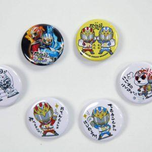 缶バッチ(北海道)